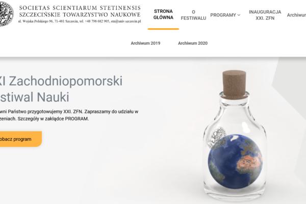XXI Zachodniopomorski Festiwal Nauki